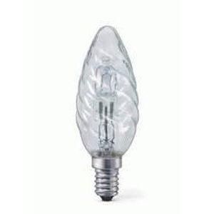 LAMPE ET SPOT DE SCÈNE Lampe E14 flamme torsadée 230V 28W halogène éco éq