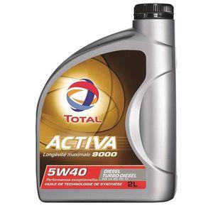 HUILE MOTEUR TOTAL ACTIVA 9000 D5W40 2L
