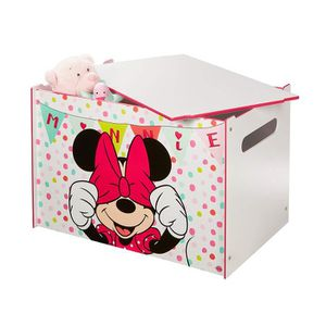 COFFRE À JOUETS Coffre à jouets coffre de rangement Disney Minnie