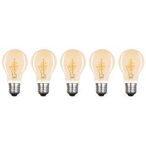 AMPOULE - LED XQ-LITE Lot de 5 ampoules filament LED E27 globe 2