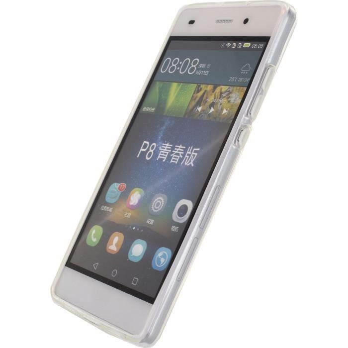 MOBILIZE Etui de protection pour Huawei P8 Lite - Transparent