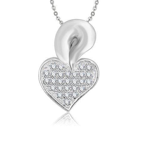 Cadeaux Saint Valentin femmes Pendentifs pour Avec chaîne plaqué or Ps517 SQJ0R