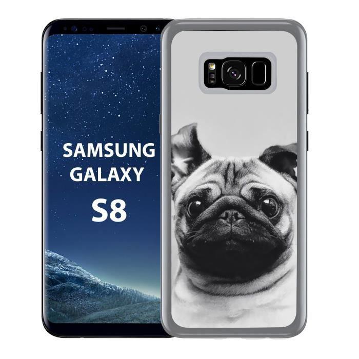 coque samsung galaxy s8 chien