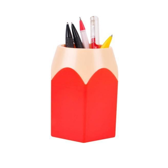 Maquillage Pinceau Vase Porte-crayons Porte-stylo Papeterie Stockage