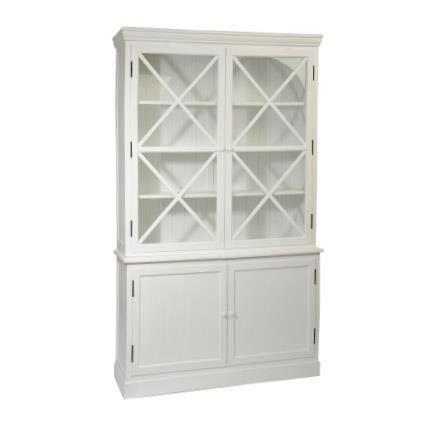 buffet vaisselier 4 portes blanc achat vente buffet bahut buffet vaisselier 4 portes. Black Bedroom Furniture Sets. Home Design Ideas