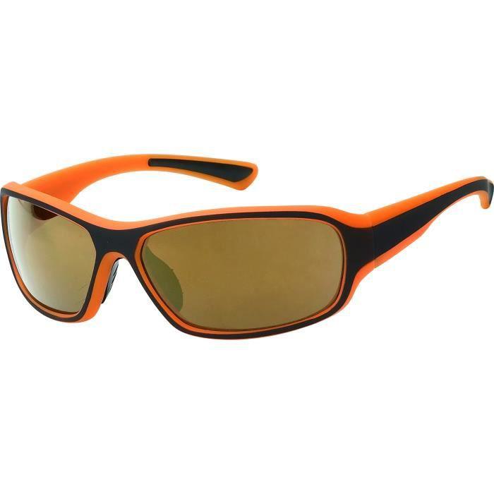 3c93e461e7b887 Lunette sport extrême-ment tendance-4 couleurs au choix-SP423 Monture orange