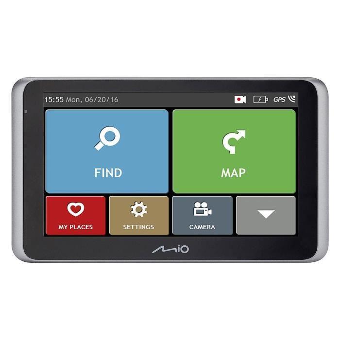 GPS AUTO MOI MiVue Drive 55 LM GPS voiture - Caméra embarqu