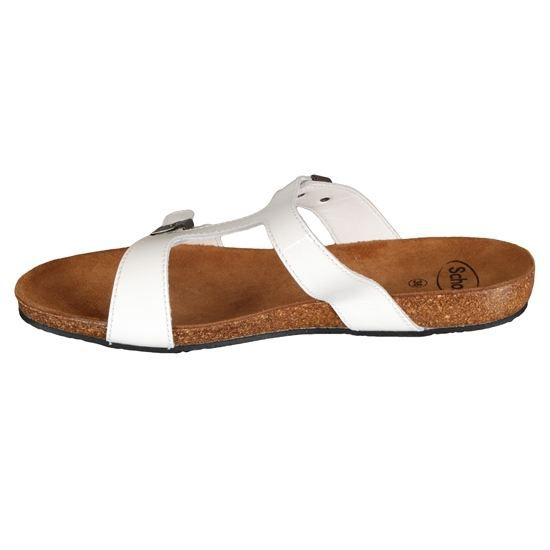 b606aa95efd1 MULES SCHOLL CAYS - Achat   Vente MULES SCHOLL CAYS Blanc pas cher ...