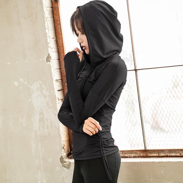 Pum De Version Encapuchonné Femme Coréenne Vêtements Yoga Loisir RqzAw6R