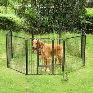 enclos pour chien achat vente enclos pour chien pas cher cdiscount. Black Bedroom Furniture Sets. Home Design Ideas