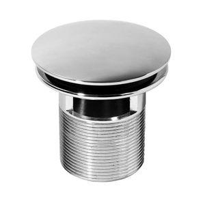 BONDE - CABOCHON WIRQUIN Bonde lavabo design Quick-Clac laiton 75mm