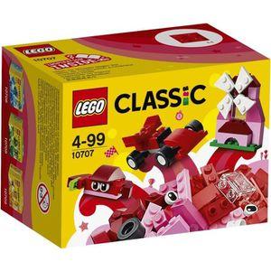 LEGO? Classic 10707 Boîte de Construction rouge