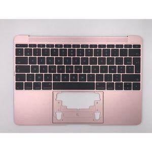 CLAVIER D'ORDINATEUR Topcase Rose+clavier français AZERTY Apple MacBook