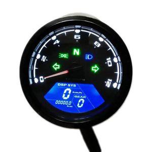 COMPTEUR Universal LCD Digital Indicateur de Vitesse Assemb