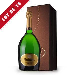 VIN ROUGE 18X R de Ruinart Brut 150cl - Coffret - Champagne
