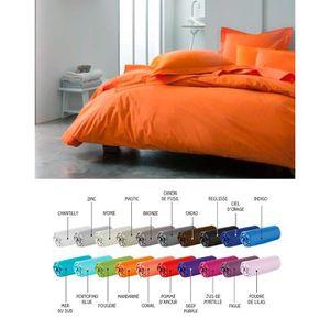 couette couleur unie 140x200 achat vente pas cher. Black Bedroom Furniture Sets. Home Design Ideas