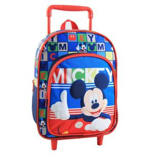 CARTABLE Sac a roulettes Mickey maternelle 30 CM