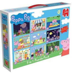PUZZLE DISET Peppa Pig - Le Puzzle 9 en 1