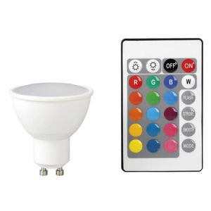 AMPOULE - LED EXPERTLINE Ampoule décorative LED GU10 avec téléco