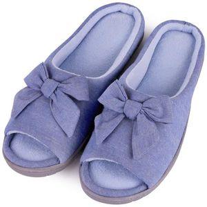 CHAUSSON - PANTOUFLE pantoufles classiques pour femmes en mousse viscoé