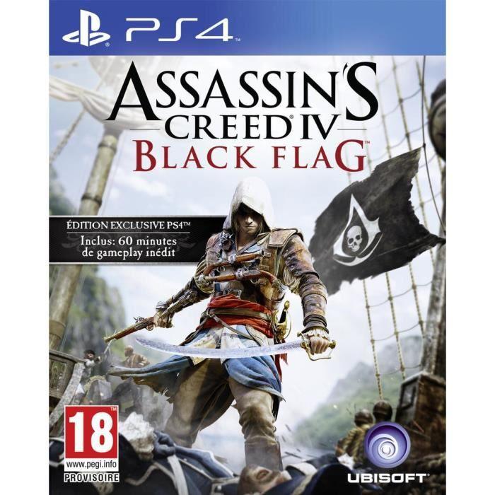 JEU PS4 Assassin's Creed IV: Black Flag Jeu PS4