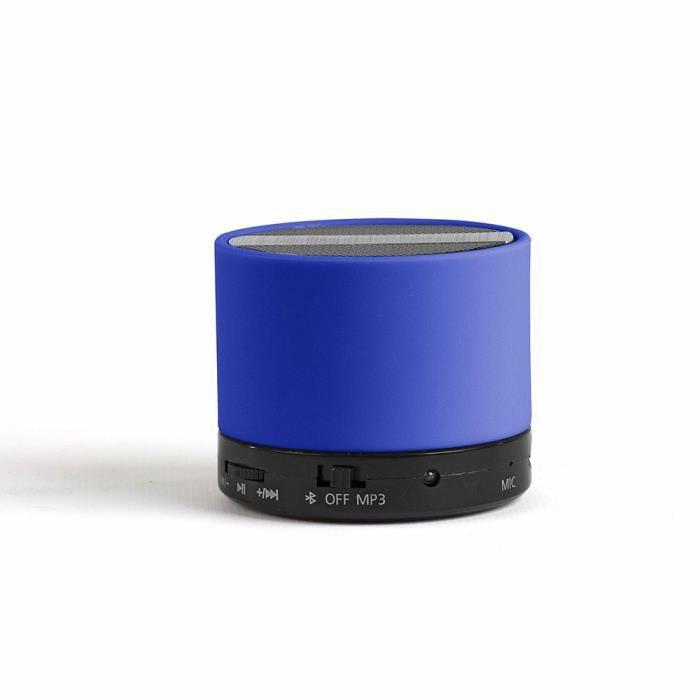 Haut-parleur, compatible Bluetooth - Micro intégré pour répondre aux appels téléphoniques en mains libresENCEINTE NOMADE - HAUT-PARLEUR NOMADE - ENCEINTE PORTABLE - ENCEINTE MOBILE - ENCEINTE BLUETOOTH - HAUT-PARLEUR BLUETOOTH