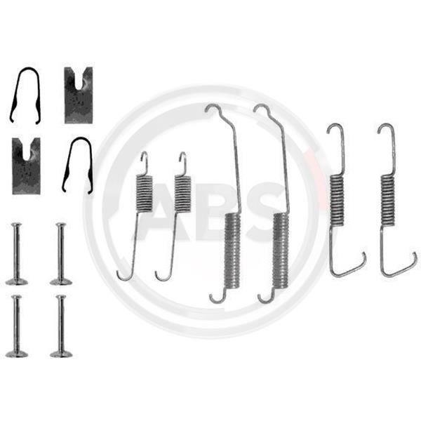 Kit d accessoires mâchoire de frein - A.B.S. 0773Q