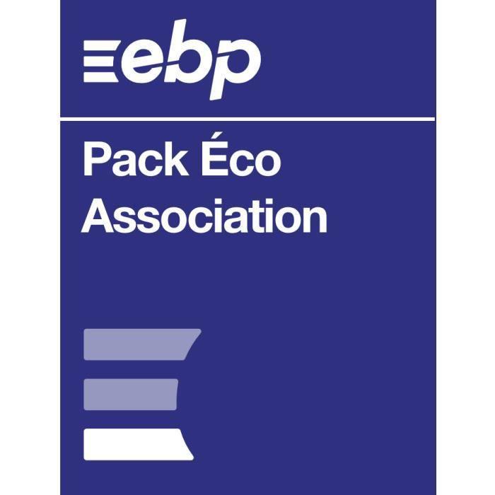 BUREAUTIQUE EBP Pack Eco Association - Dernière version - Ntés