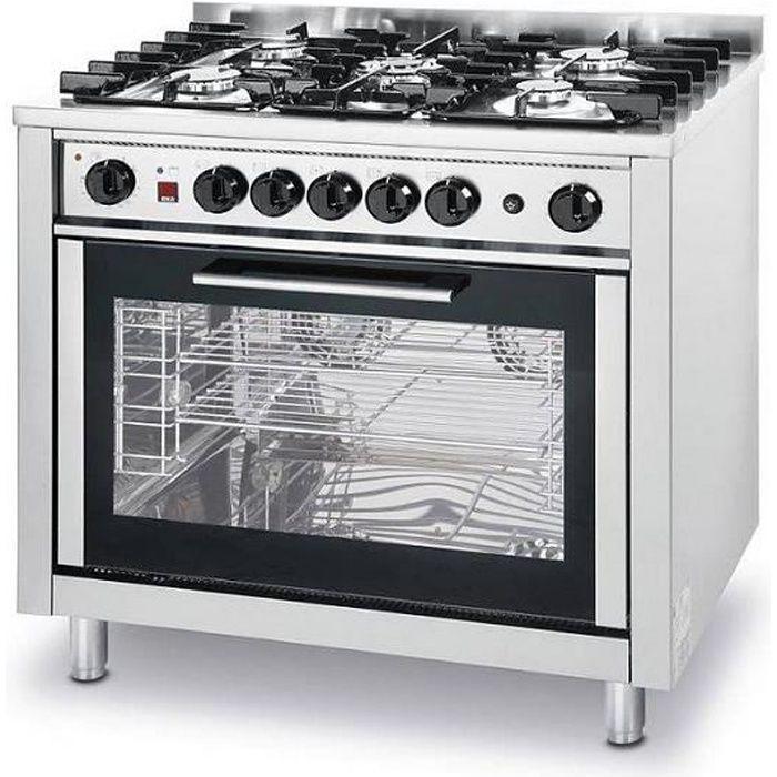 Gaziniere Feux Four Electrique Achat Vente Gaziniere Feux - Cuisiniere table gaz four electrique pour idees de deco de cuisine