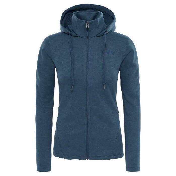 pretty nice dbdfa a6b38 BLOUSON MANTEAU DE SPORT Vêtements femme Vestes polaires The North Face Mou