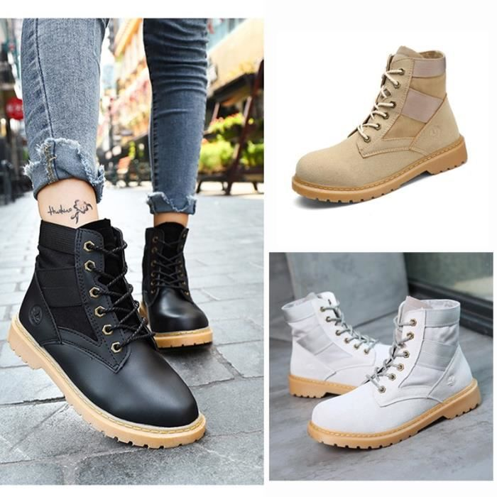 Bottes pour Mixtemarron 13 Chemisettes Tooling Automne Casual Suede hiver neige botte en cuir Martin Zapatos Mujer Big_6470 8bfAeOi0D