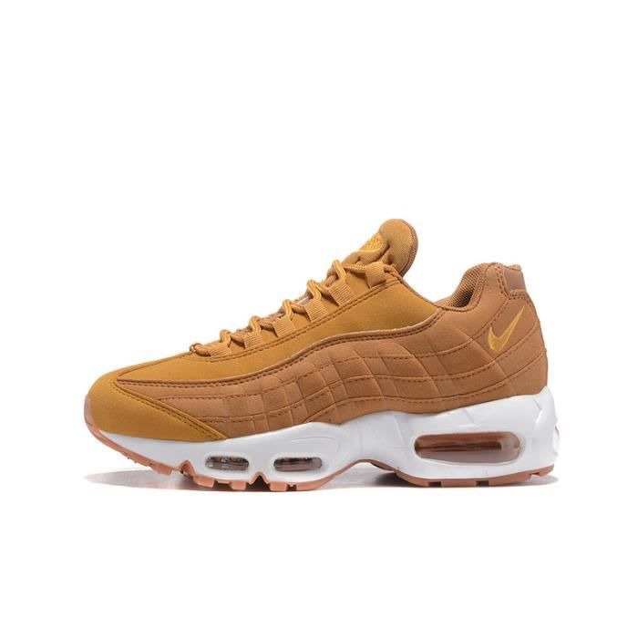 huge discount 90520 636b6 Baskets Nike Air Max 95 Essential Chaussures De Running Femme Entrainement  Marron