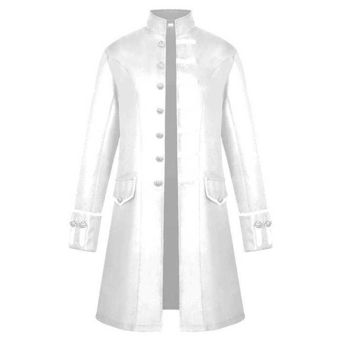 Pardessus Boutons Outwear Manteau Veste Chaud 3108 Es D'hiver Vintage Hommes Frac gPpnTq7w