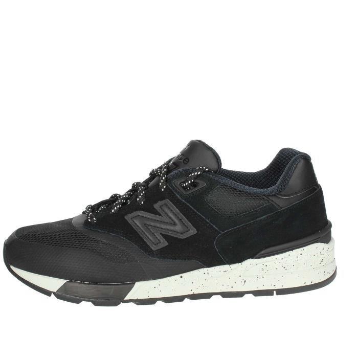 haute couture f7ece ba8e0 New Balance Petite Sneakers Homme Noir Noir Noir - Achat ...