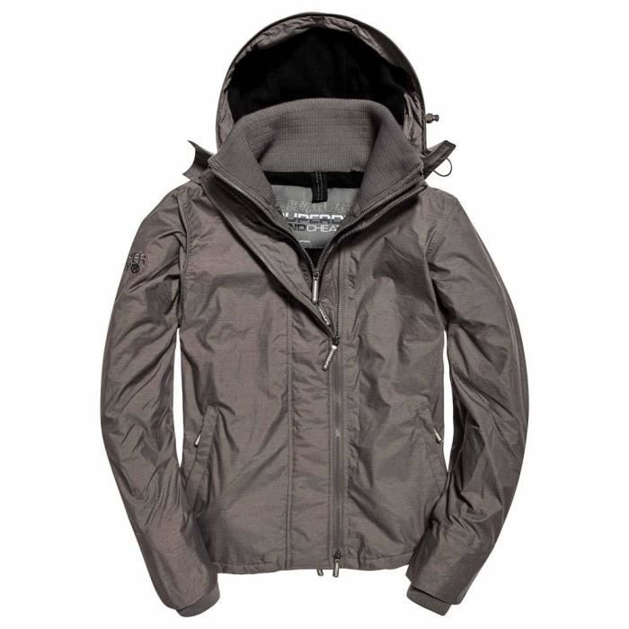 picked up save off new arrival Vêtements Homme Vestes Superdry Arctic Hooded Pop Zip Windcheater