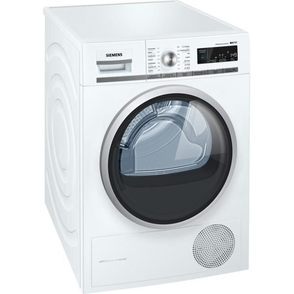 wt47w560fg siemens - sèche-linge - pompe à chaleur iq700 8kg a++