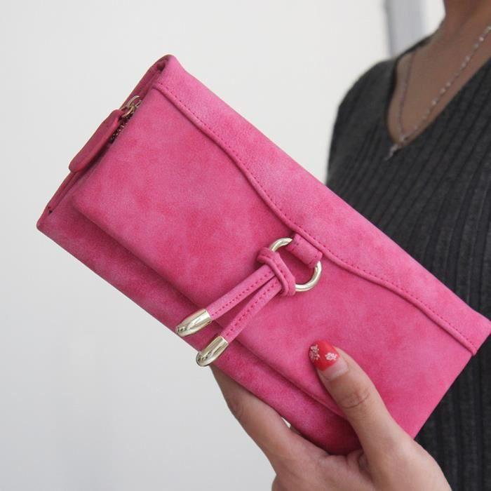 Rose Lady Pochette Bifold Petit Sac Dedasing® Femme À amour1158 Carte Main Titulaire Qualité qRCOOBw