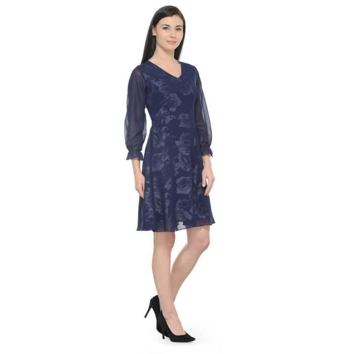 Womens Multicolor Printed Shift Dress NOQHB Taille-34