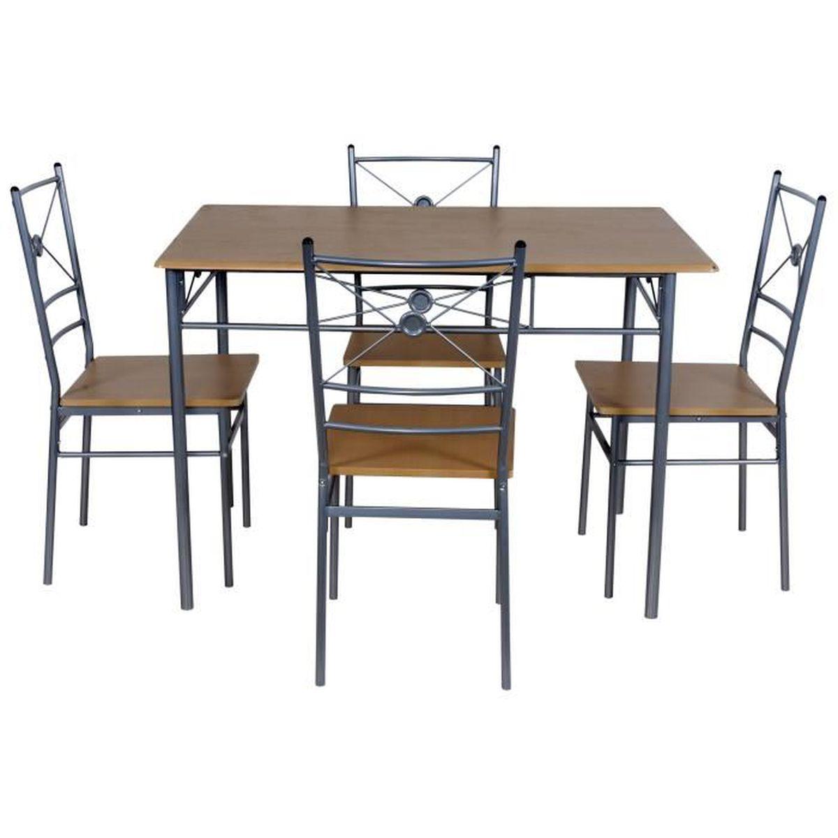 Uac 4 Doqcerxbw En Voir De Table Chaisesfree Luensemble Cuisine Gifi 3AL54jR