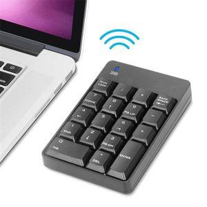 PAVÉ NUMÉRIQUE 18 Touches 2.4G sans fil USB pavé numérique pour i