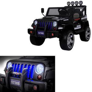 VOITURE ENFANT Voiture électrique 4X4 jeep enfant bébé 4 moteurs