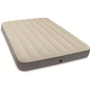 LIT GONFLABLE - AIRBED INTEX Matelas DOWNY FIBER TECH 137x191 cm - Gonfla