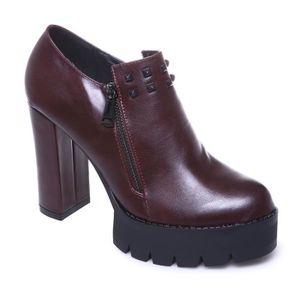BOTTINE La Modeuse - Low boots femme en PU