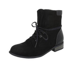 cc01c09b7d16a Bottines - Boots noir femme - Achat   Vente Bottines - Boots noir ...