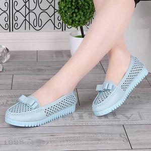 MOCASSIN Femmes Femme Flats Chaussures Fille Confort Casual