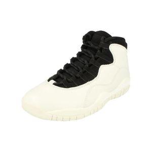 BASKET Nike Air Jordan Retro 10 Hommes Hi Top Basketball