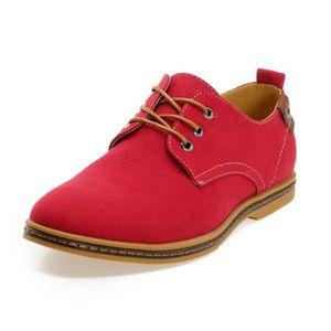 LACET  homme chaussure de ville toile a lacets chaussures