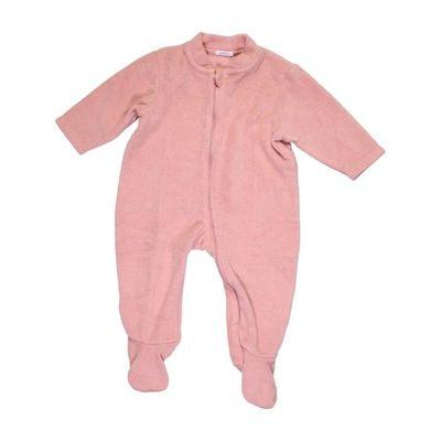 878ec3ae8ad47 Robe de chambre bébé fille BOUT'CHOU 12 mois rose hiver - vêtement bébé  #1039972