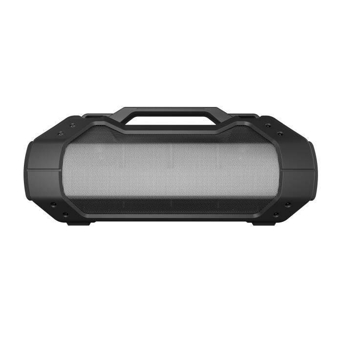 Waterproof IPX5 - Sub woofer - Bandoulière - 14 heures d'autonomie - Bluetooth 2.1ENCEINTE NOMADE - HAUT-PARLEUR NOMADE - ENCEINTE PORTABLE - ENCEINTE MOBILE - ENCEINTE BLUETOOTH - HAUT-PARLEUR BLUETOOTH