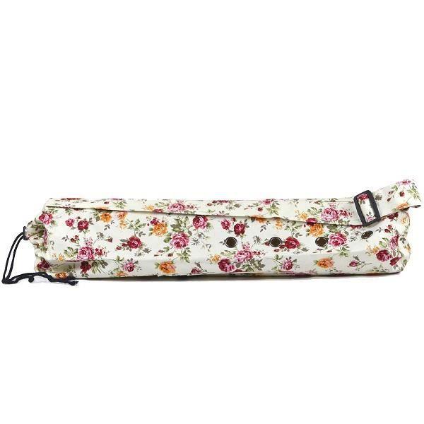 Sac Housse De Tapis Yoga Mat En Tissu A Imprime De Fleur Floral